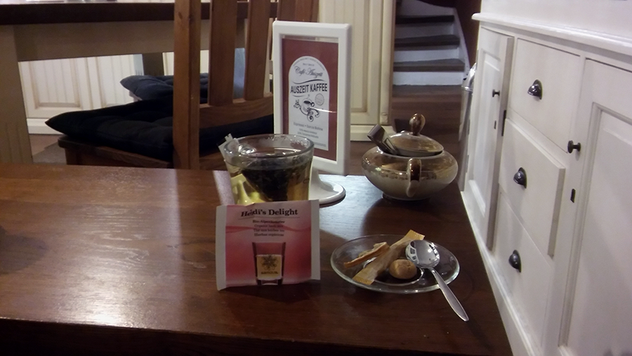 Mein Tee mit Beccy