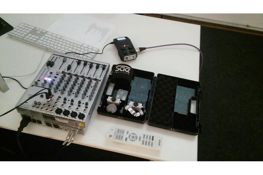 H6 Equipment mit Mischpult - Logic Workshop
