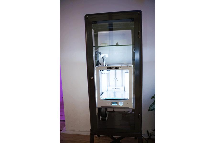 3D Drucker - Tür