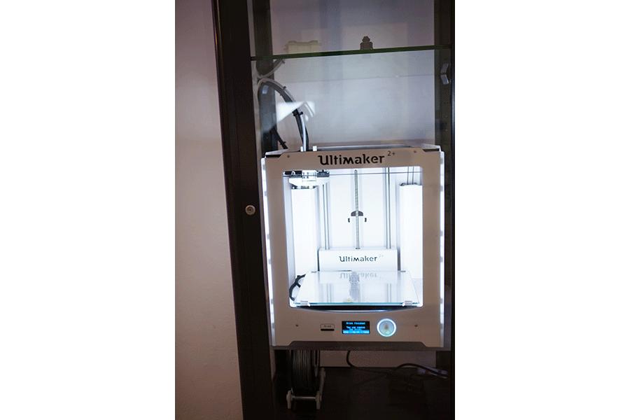 3D Drucker im Detail - Tür