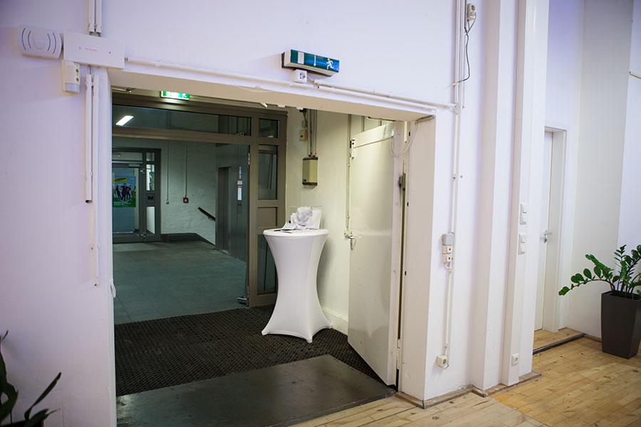 Eingangsbereich - Tür