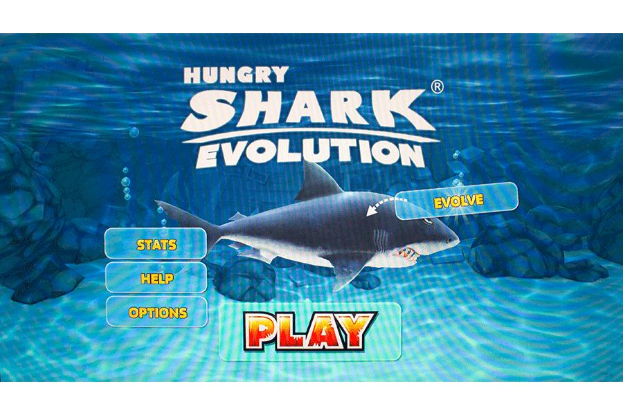 Start des Spieles Hungry Shark Evolution - Shark Week