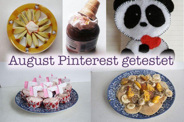 Pinterest August getestet