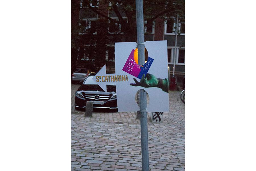 Weiteres Puzzleteil welches den Weg in die St. Katharinen Kirche zeigt