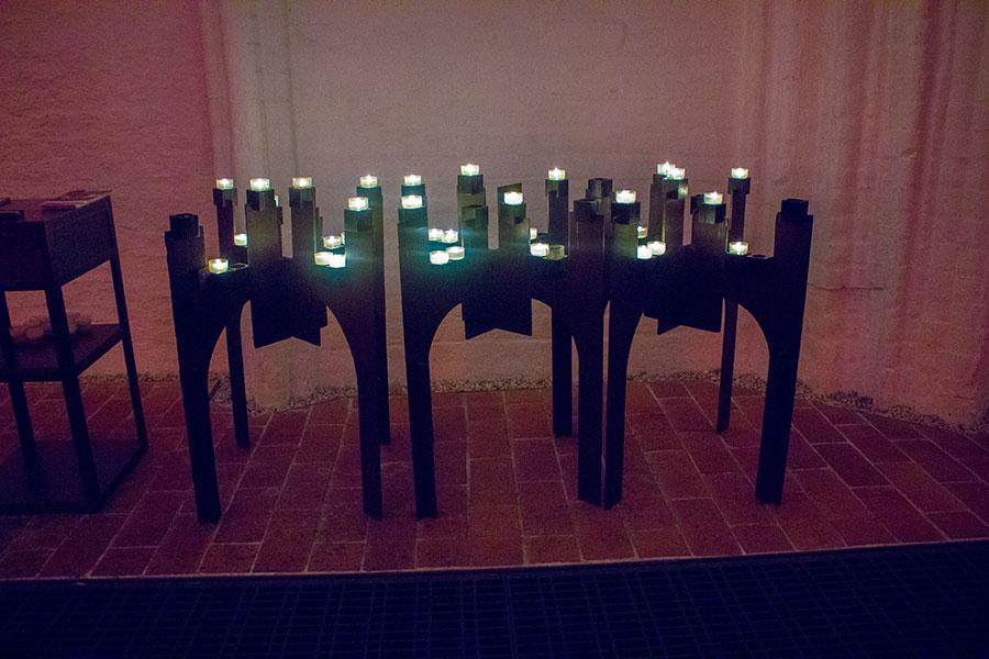 Kerzen in der St. Katharinen Kirche