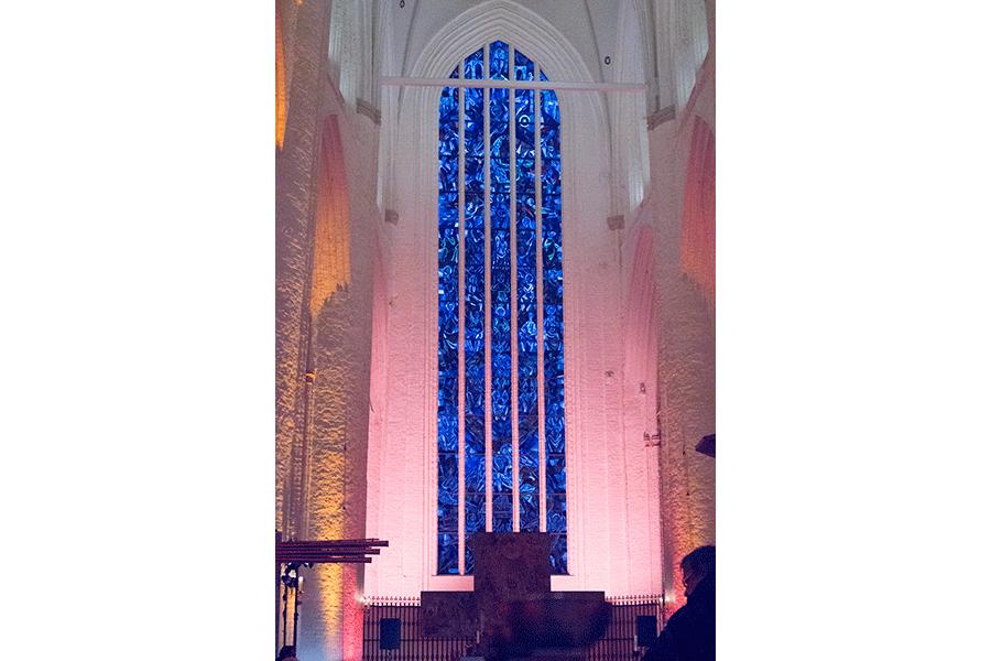 Fenster in der St. Katharinen Kirche