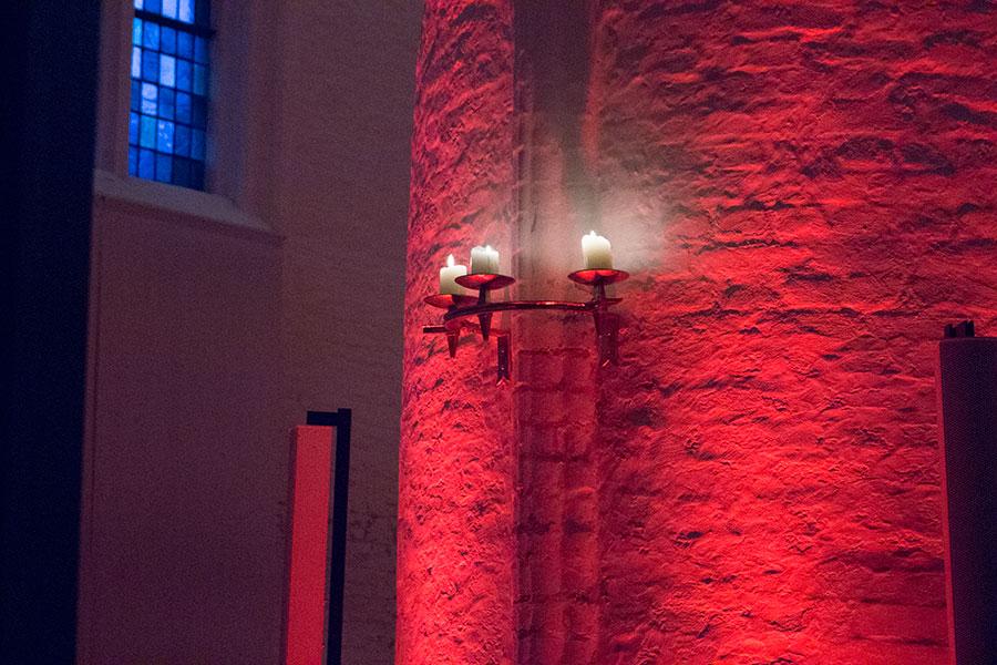 Kerzenhalter in der St. Katharinen Kirche