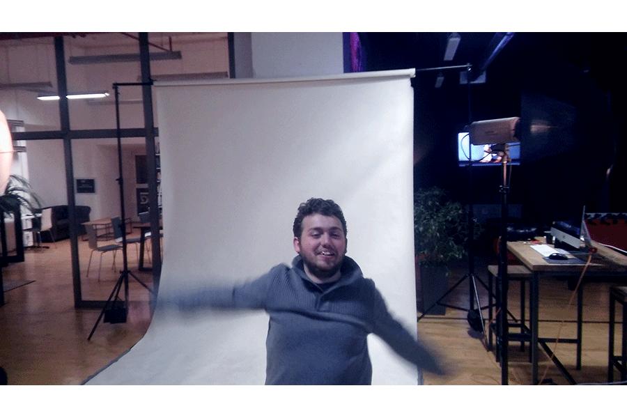 Erik fotobombend meine Bilder :P