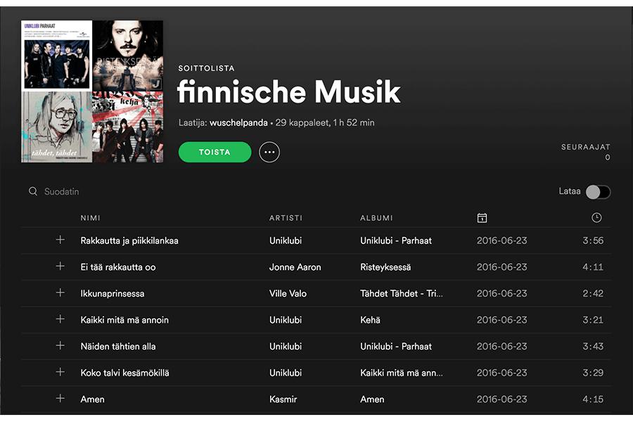 finnische Musik