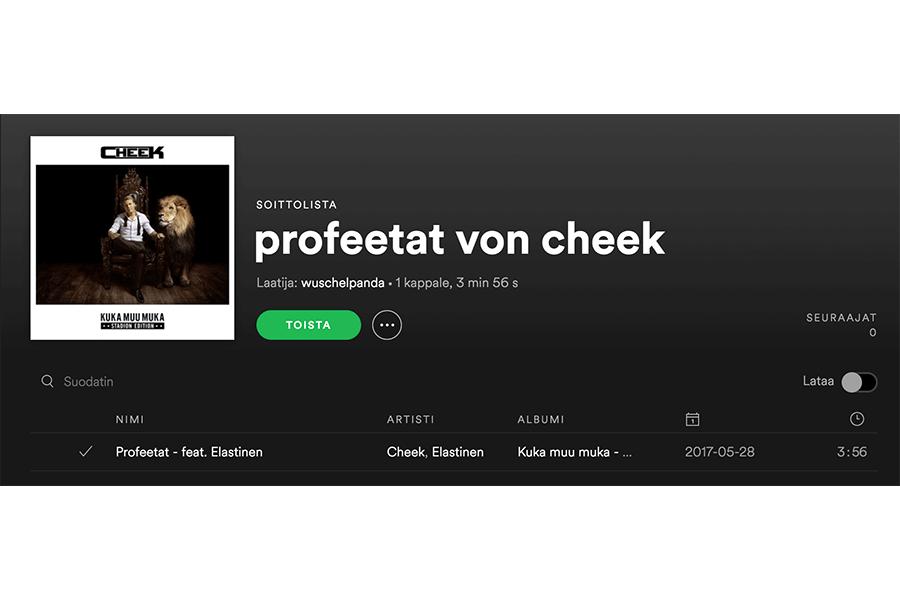 profeetat - Musik