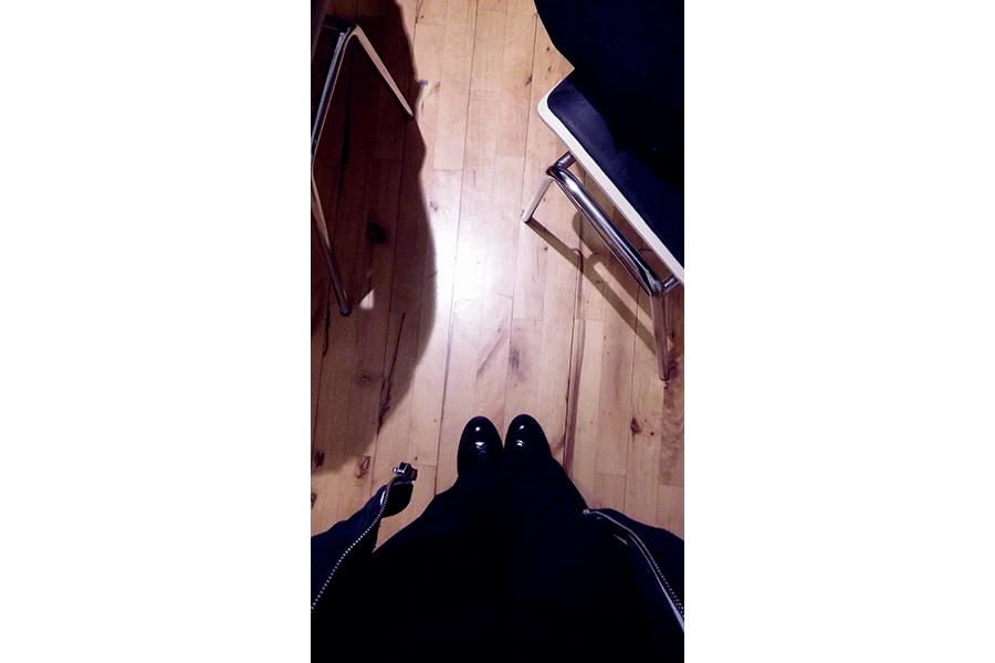 Ein Blick auf meine Schuhe