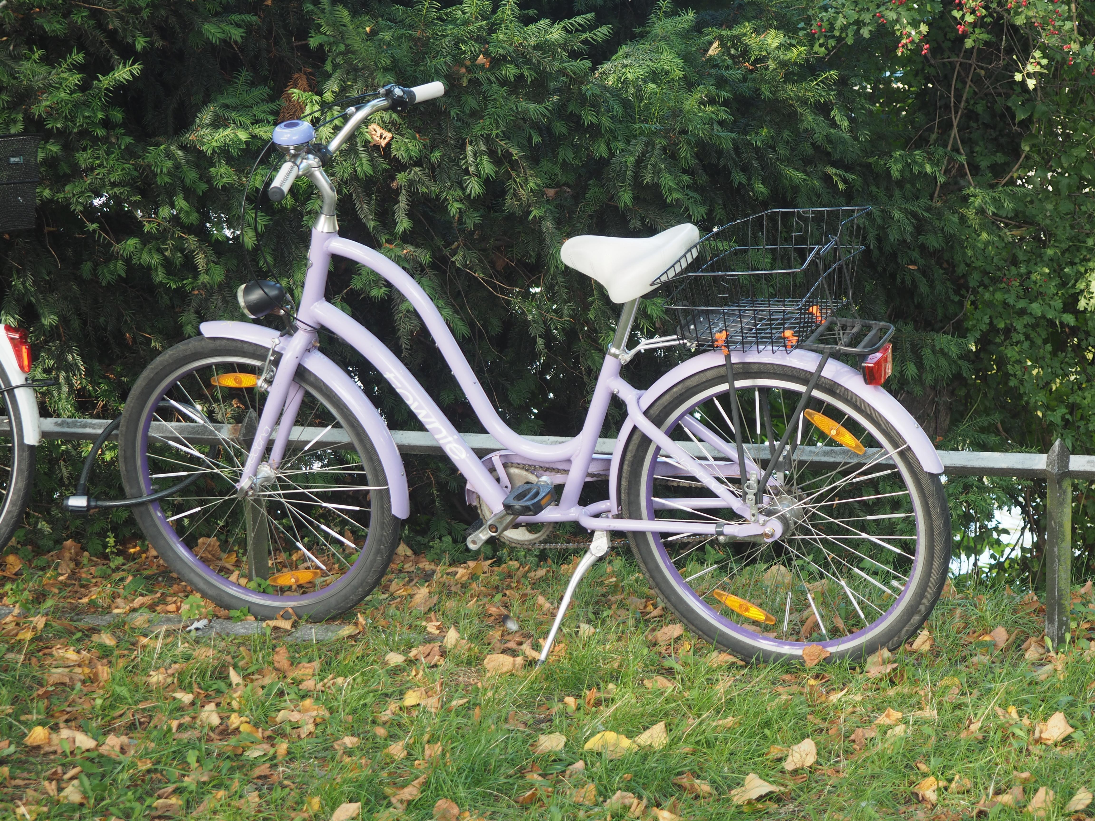 Wenn ich ein Fahrrad hätte, hätte ich gerne eines wie das :)