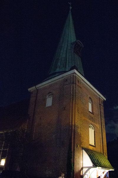 Hochzeitskirche an der Grenze von Eppendorf und Alsterdorf